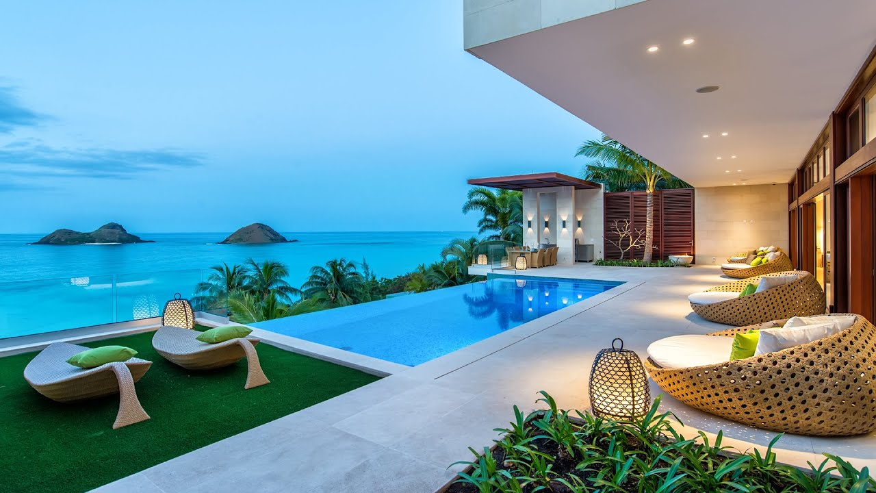 Home Of The Week A Modern Hawaiian Hillside Estate