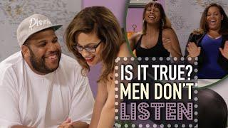 Men Don't Listen | Is It True?