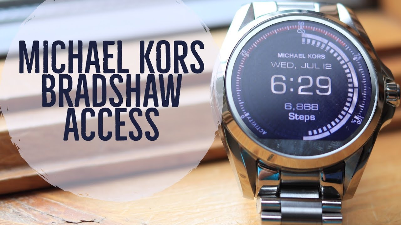 a3227a68dd67 Michael Kors Bradshaw Access Review - YouTube
