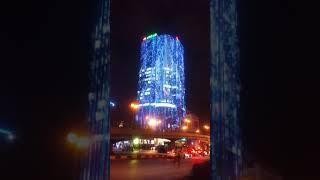 Trang trí chiếu sáng đèn LED tòa nhà vpbank phuthanhled