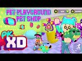 PET PLAYGROUND AND PET SHOP PK XD GAME HOUSE TOUR MAKEOVER/DESIGN REALITY SHOW
