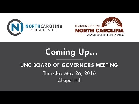 UNC Board of Governors Meeting: Strategic Priorities Discussion