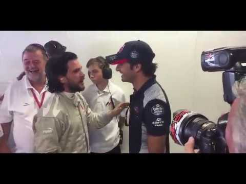 Kit Harington | Game of Thrones | Monza in F1