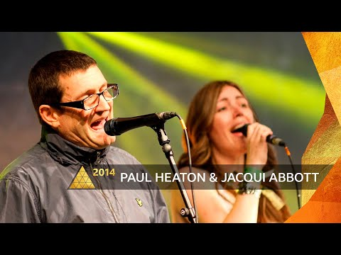Paul Heaton and Jacqui Abbott perform on the BBC Introducing stage at Glastonbury Festival 2014