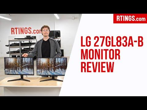 LG 27GL83A-B Monitor Review - RTINGS.com