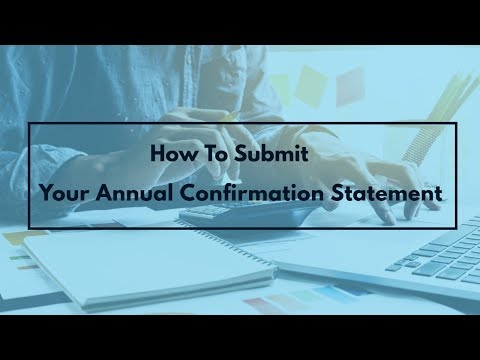 How To Submit Your Annual Confirmation Statement | 1stChoice Company Formations LTD