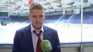Главный тренер «Тюменского Легиона» Владимир Гусев после победы над «Белыми Медведями» (5:2)