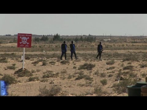 Egypt battles landmines 75 years after El Alamein