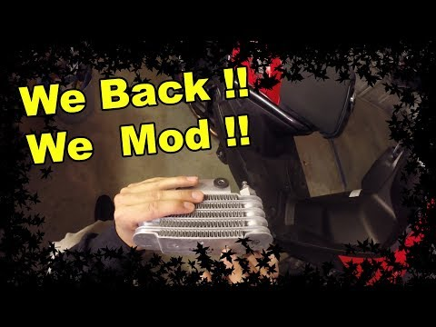 Unboxing Oil Cooler Kit - NCY Cooler & KOSO Plate - Zuma 125 Mods