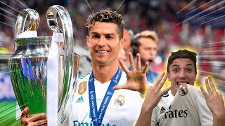 REAGINDO A FINAL DA CHAMPIONS LEAGUE 2018 ( real madrid campeão )