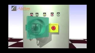 Aktion | Lockout Tagout | Emergency push button lockout device | Demo