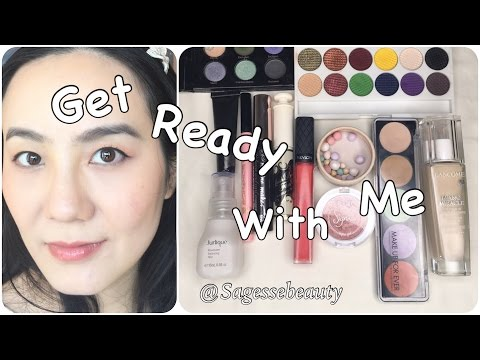 GRWM Sleek Bohemian盘红铜色妆容 talk though | Sagessebeauty