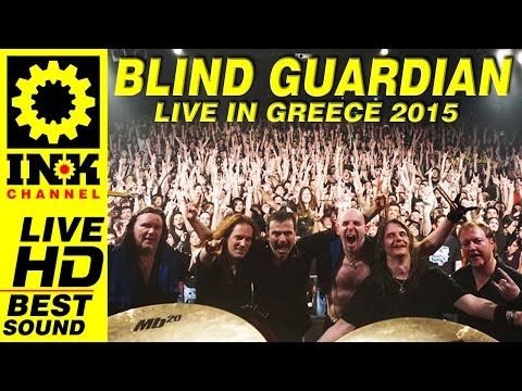 BLIND GUARDIAN - Full Concert - Greece 2015