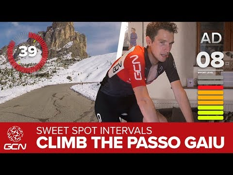 Sweet Spot Intervals | Indoor Training On The Passo Giau