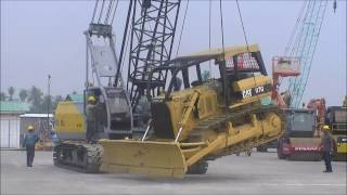 how to operate crawler crane sumitomo sc500