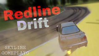 Riding My Nissan Skyline! (Redline Drift) ROBLOX