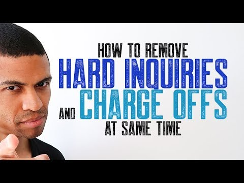how-to-remove-hard-inquiries-and-charge-offs-at-same-time-||-credit-repair-2020-||-brandon-weaver