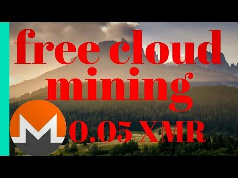 free monero cloud mining site 0.005 XMR signup bonus