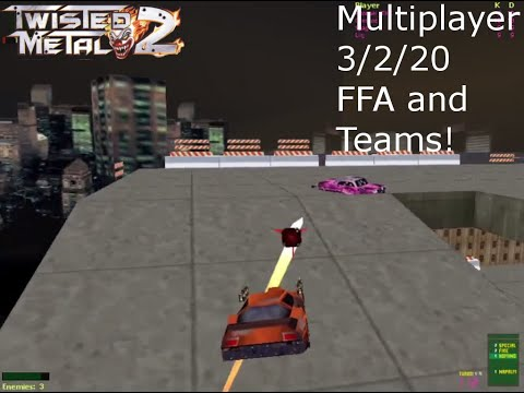 Twisted Metal 2 Multiplayer 3-2-20