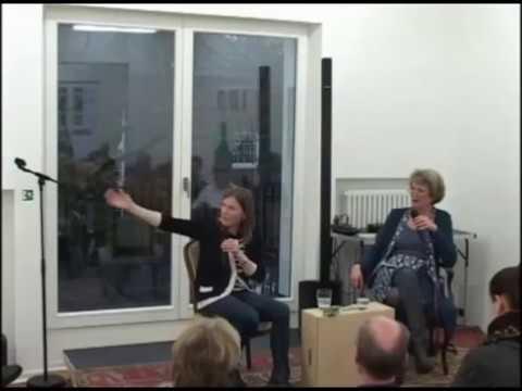 Pia Fries in der Kopfermann Fuhrmann Stiftung