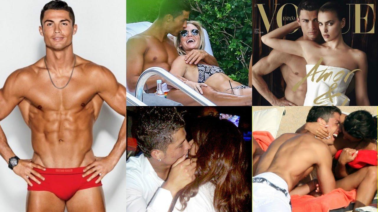 Ronaldo with transvestite