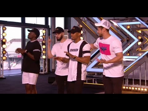 Rak-Su: Boyband Makes Nicole DANCE in HER SEAT | Auditions | The X Factor UK 2017