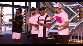 Rak-Su: Boyband Makes Nicole DANCE in HER SEAT | Auditions | The X Factor UK 2017