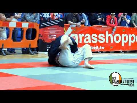 Shane Galvin [Team Lagarto Tralee] vs John  Sheridan [ECJJ] Purple Middle - Irish Open 2014