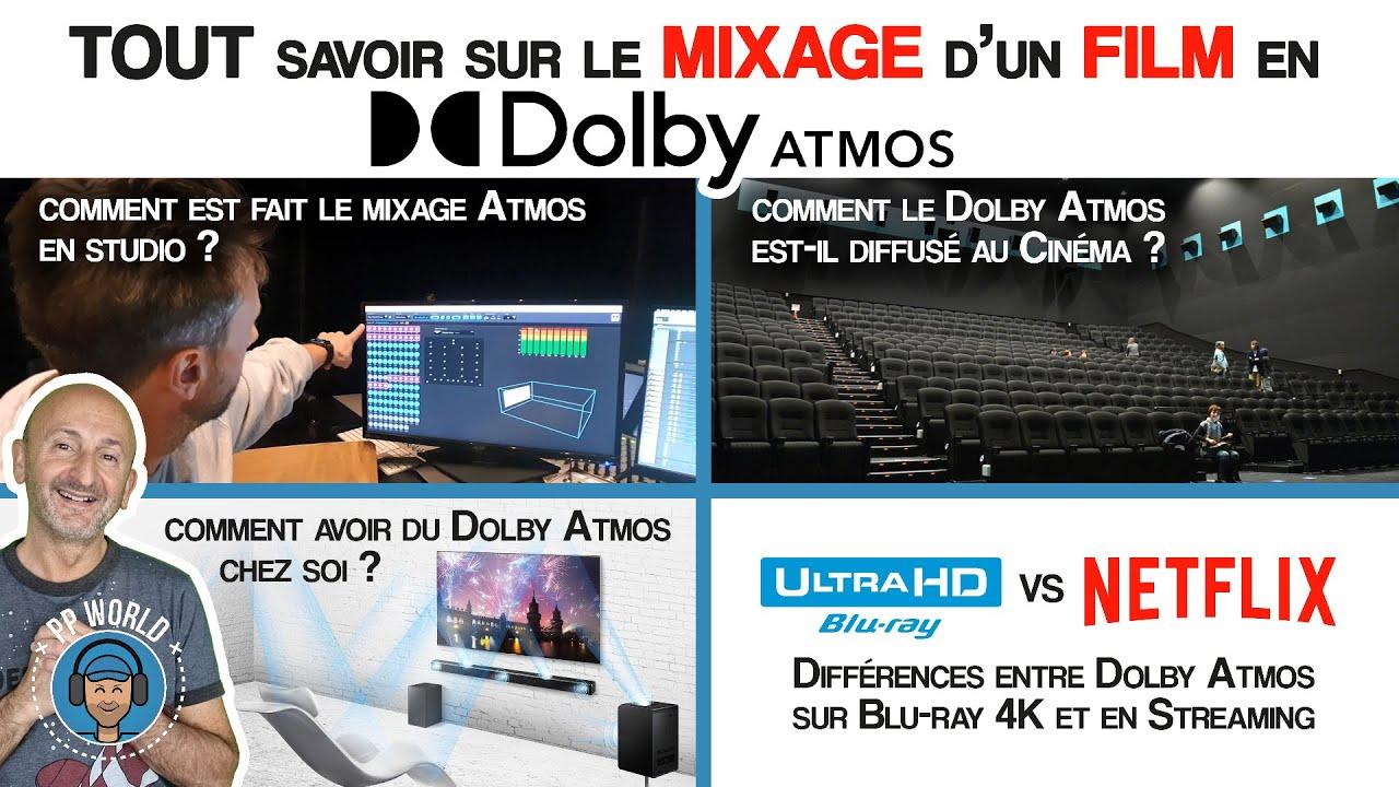 TOUT Savoir Sur le MIXAGE d'un FILM en Dolby Atmos (et COMMENT l'obtenir chez VOUS !)