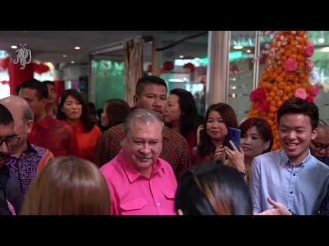 SULTAN OF JOHOR ATTENDS ISKANDAR WATERFRONT HOLDINGS 'CHAP GOH MEI' CELEBRATION