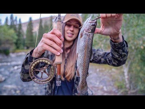 CATCH N' COOK: Rainbow Trout Edition | Life on the Road VLOG 20