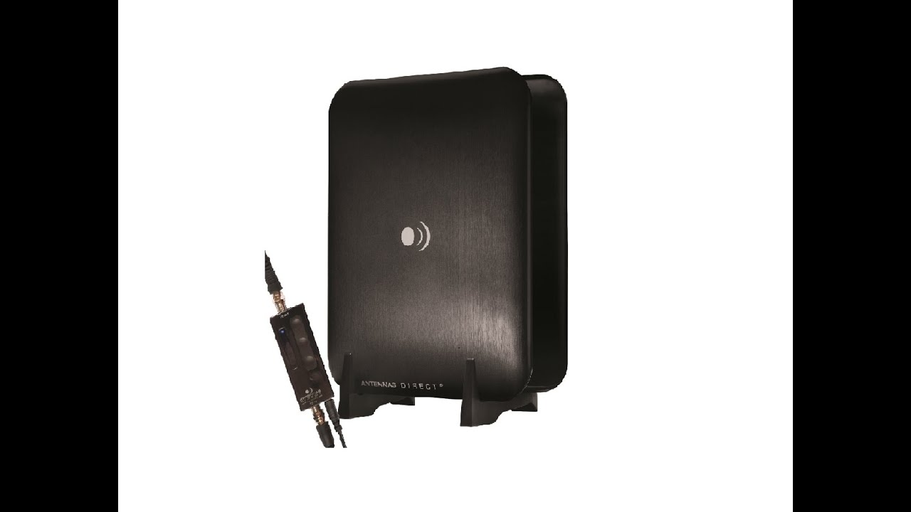 Clearstream Micron Xg Amplified Indoor Hdtv Antenna Assembly And