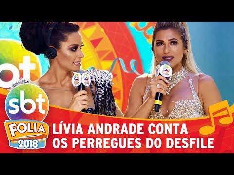 Lívia Andrade conta os perrengues do desfile em São Paulo