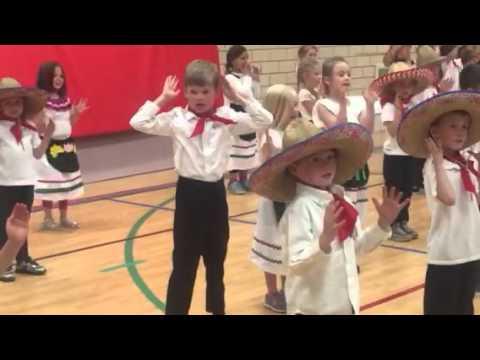Cinco De Mayo kindergarten dance