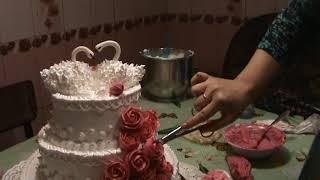 Украшение свадебного торта 2