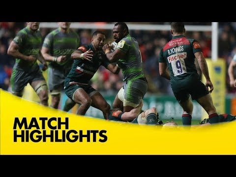 Leicester Tigers v Newcastle Falcons - Aviva Premiership Rugby 2017-18