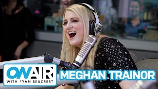 Meghan Trainor Plays 'All About That Vase'   On Air with Ryan Seacrest