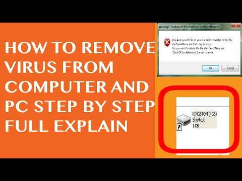 How to remove virus from pc without antivirus Using cmd Windows 10 Easy Step by Step Full Explain