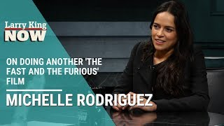 'The Fast and The Furious' Star Michelle Rodriguez On Doing Another Film in the Franchise