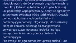 Laureat Kryształowego Serca Radcy Prawnego z OIRP w Opolu