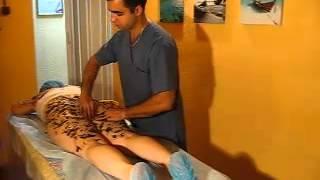 видео Лимфодренажный детокс массаж на травяном масле