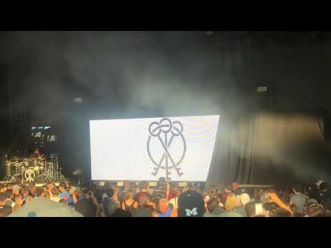 NF  Outcast Intro  @ DTE Energy Music Theatre
