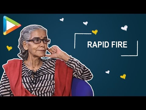 "Surekha Sikri Rapid Fire: ""#MeToo Movement ka Misuse Nahi Hona Chahiye""   Badhaai Ho"