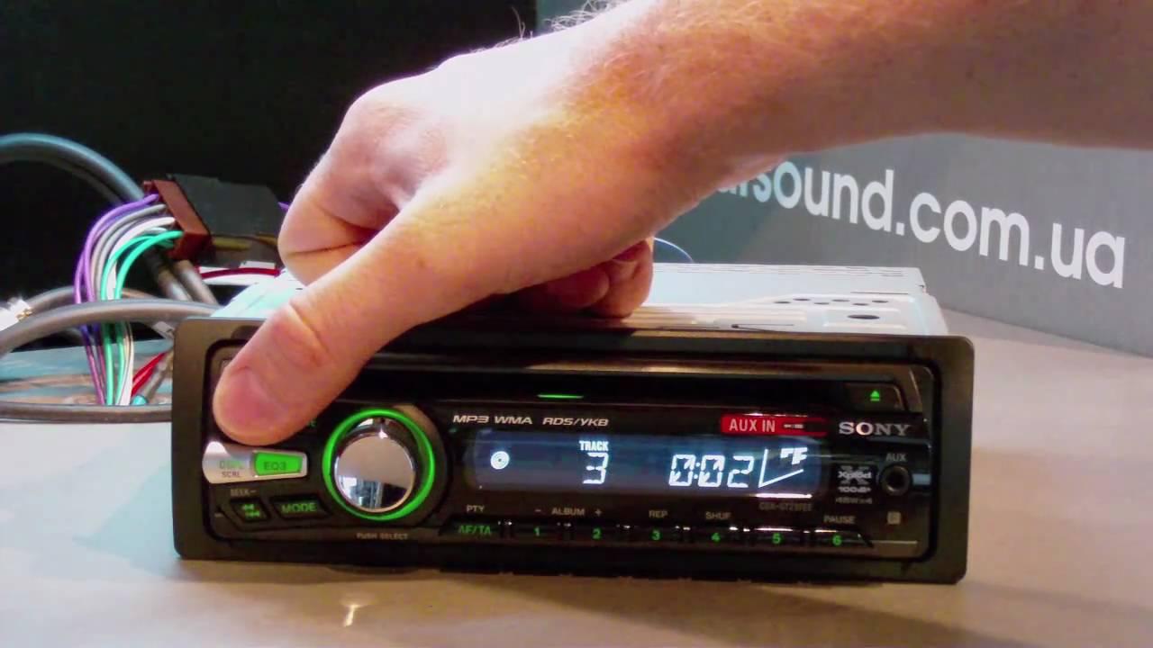 Sony cdx-gt247ee схема