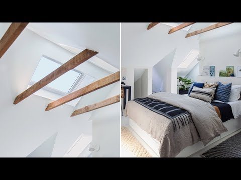 Makeover: Tour A Bright & Inviting Attic Bedroom