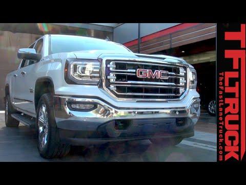 2016 GMC Sierra: Fresh Look, 8-speeds, and Swing Step