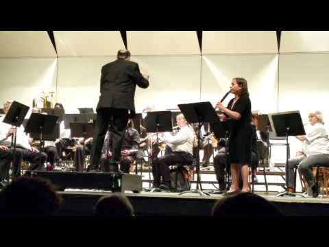Rhapsody for Solo Clarinet and Band by Anne McGinty - LAVC Spring Concert