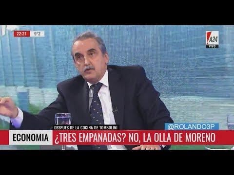 Guillermo Moreno en A24 10/07/17