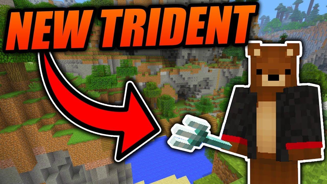 Crafting Trident Recipe Minecraft