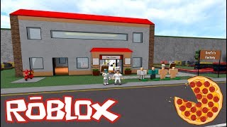 ROBLOX - I Build My Pizzeria 🍕 - PIZZA FACTORY TYCOON